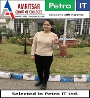 Campus Placement Drive by Petro IT Ltd