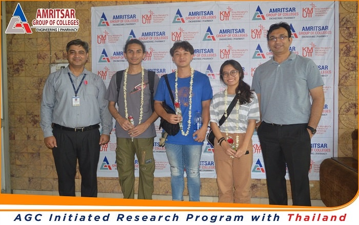 AGC Initiated Research Program with Thailand