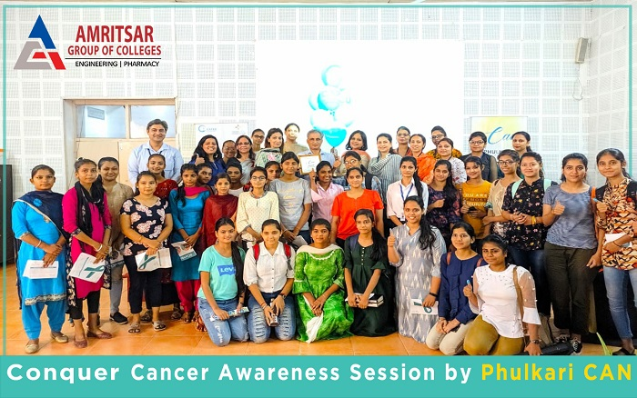 Cervical Cancer Awareness Session held at AGC by Phulkari CAN | Amritsar