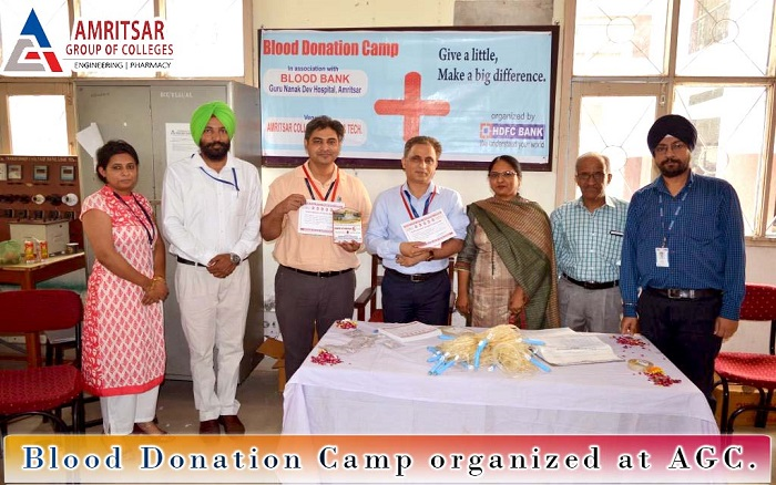 Blood Donation Camp held at AGC