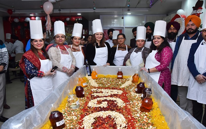 Cake Mixing Ceremony at ACET