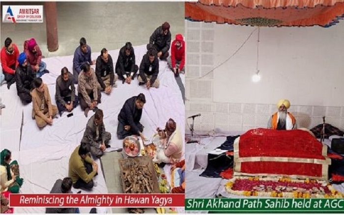 Sri Akhand Path Sahib & Hawan Yagya held at Amritsar