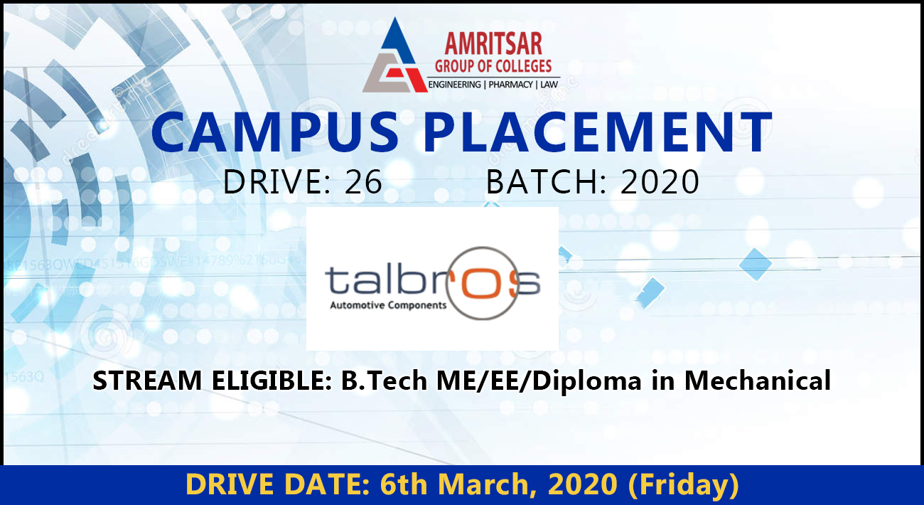 Talbros Automotive Component Limited at AGC