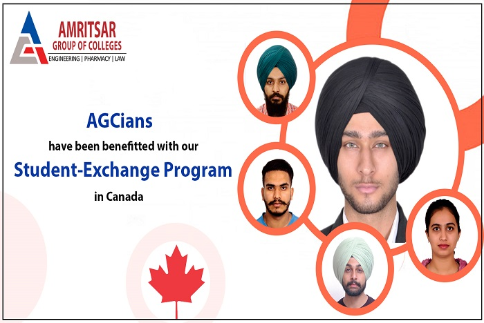 Amritsar Group of Colleges becomes First Choice for Student Exchange Program in Canada